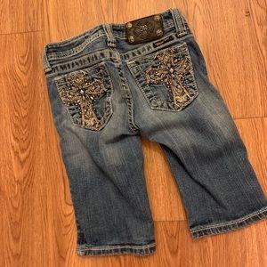 Miss Me Jeans Bermuda denim shorts size 10